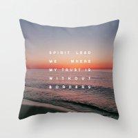 Spirit Lead Me Throw Pillow