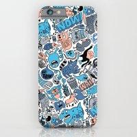Gross Pattern iPhone 6 Slim Case