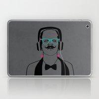 Hipsterstein /gray Laptop & iPad Skin