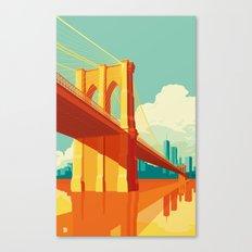 Brooklyn Bridge NYC Canvas Print