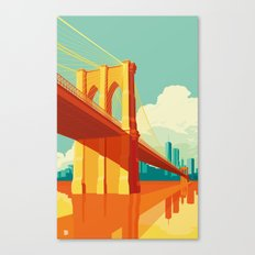 Brooklyn Bridge NYC Canvas Print