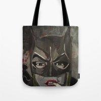 Gotham Vixen Tote Bag