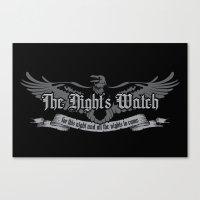 The Night's Watch Canvas Print