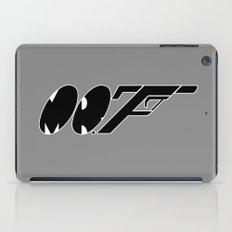 Mr. F (b) iPad Case