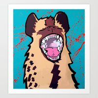 Eat.Prey.Repeat Art Print