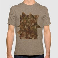 Red-Throated, Black-capp… Mens Fitted Tee Tri-Coffee SMALL