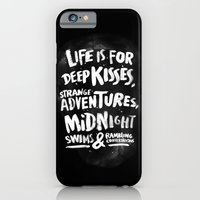 iPhone & iPod Case featuring Life is for deep kisses... by WEAREYAWN