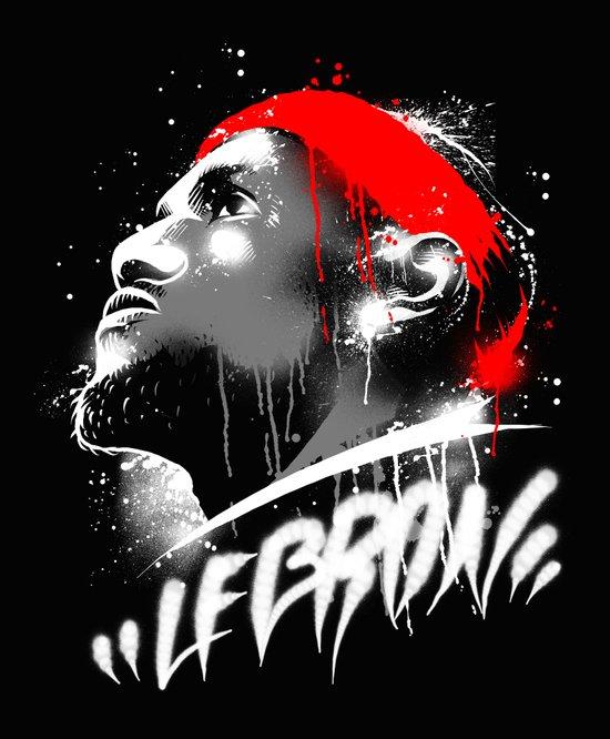 Lebron J Art Print