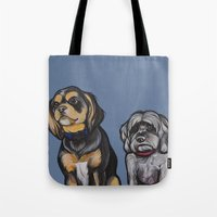 Charlie And Max Tote Bag