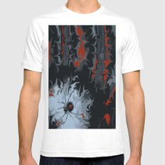 widow Mens Fitted Tee SMALL White