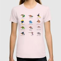 Montane Birds Series 1 Womens Fitted Tee Light Pink SMALL