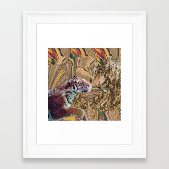 Psytiger Framed Art Print