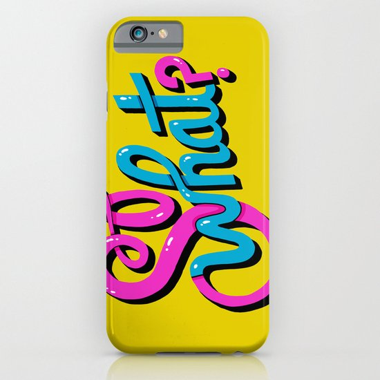 So What? iPhone & iPod Case