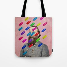 Color Chaos Collection -- Major Pill Tote Bag