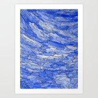 Waves Of Life. Art Print