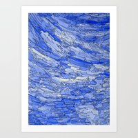Waves of Life. Art Print