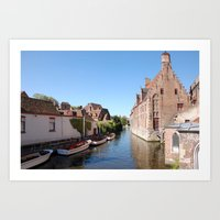 Beautiful Brugge Art Print