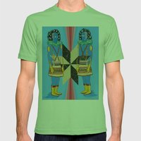 SPACE GODS Mens Fitted Tee Grass SMALL