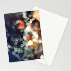 Bokeh Nights Stationery Cards