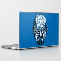 quotes Laptop & iPad Skins featuring Heisenberg Quotes by RicoMambo