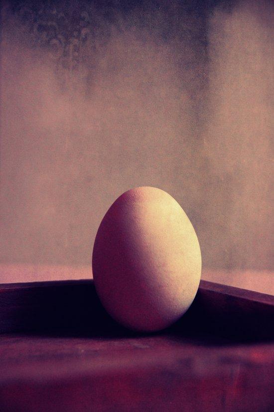 just one egg Art Print