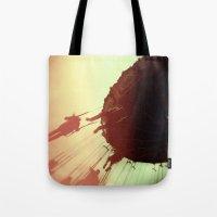 Swings and Light Leaks Tote Bag