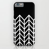 BLACK LACE CHEVRON iPhone 6 Slim Case