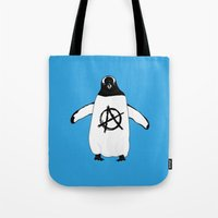 Anarchy In The Antarctic Tote Bag