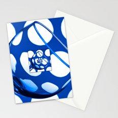 The Eternal Glass Dark Blue Stationery Cards