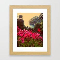 A little piece of paradise Framed Art Print