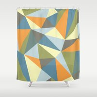 Nature Deconstructed Shower Curtain