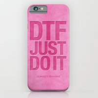 Down To F*%$k - Pink iPhone 6 Slim Case