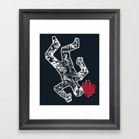 Crime Noir Framed Art Print