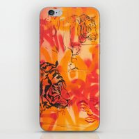 Double Tiger Medley iPhone & iPod Skin