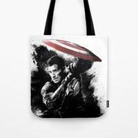 Steve Rogers: Shadow Edition Tote Bag