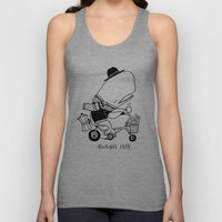 Alwhales Latte Unisex Tank Top