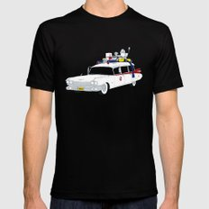 Ecto-1 Mens Fitted Tee SMALL Black