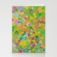 Abstract 14 Stationery Cards