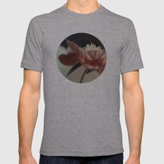 Flora Mens Fitted Tee Athletic Grey SMALL