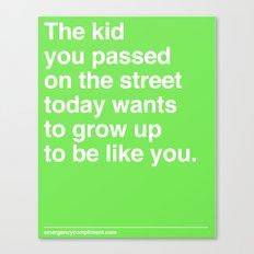 That Kid Canvas Print