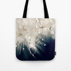 dandelion evening blue Tote Bag