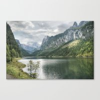Gosausee Canvas Print