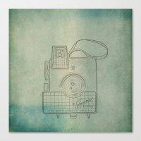 Camera Study no. 2 Canvas Print