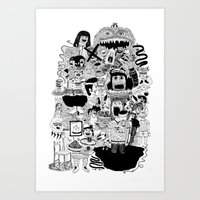 KIDS DOOM Art Print