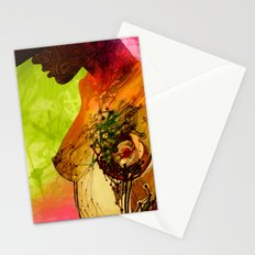 Woman. Complicated  Stationery Cards