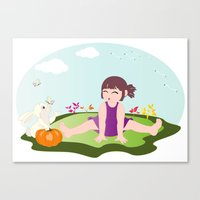 Hoho... It Is On Your No… Canvas Print
