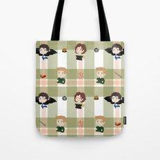 Supernatural pattern Tote Bag