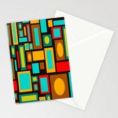 Black Mod Stationery Cards