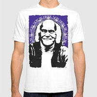 Ram Dass Mens Fitted Tee White SMALL