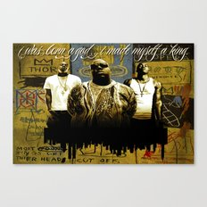 3 Kings Canvas Print
